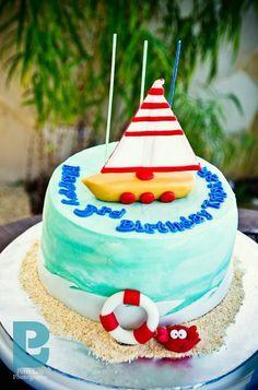 Gorgeous nautical cake #cake #nautical