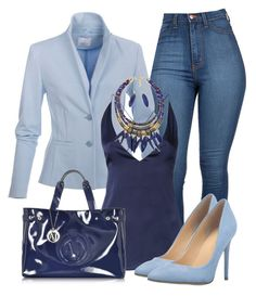 """""""Chique"""" by alice-fortuna on Polyvore featuring Dion Lee, Armani Jeans and Ivanka Trump"""