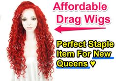 Check out this website for a few affordable wig options! ♥ they have some great deals and i've got about 8 wigs from them that are pretty decent! Drag Queen Makeup, Drag Makeup, Drag Wigs, Affordable Wigs, Cosplay Wigs, Pretty, Check, Queens, Blog