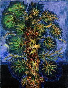 Tree Artist: Seraphine Louis Completion Date: 1930 Style: Naïve Art (Primitivism) Genre: flower painting