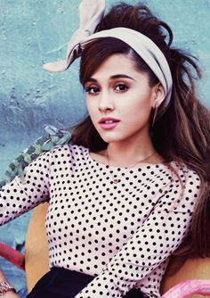 Ariana Grande Teen Vogue February 2014 - I love everything about this.