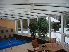 Zimní zahrada se zasklením s izolačními skly.