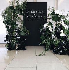 Wedding Ceremony Ideas Entrance Welcome Signs Ideas For 2019 Wedding Ceremony Ideas, Wedding Entrance, Wedding Signage, Wedding Themes, Wedding Designs, Backdrop Wedding, Modern Wedding Decorations, Modern Wedding Ideas, Wedding Ceremonies