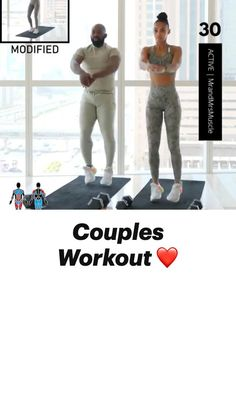 Full Body Hiit Workout, Gym Workout Videos, Gym Workout For Beginners, Fitness Workout For Women, Cardio Challenge, Gymnastics Workout, Fit Couples, Fit Board Workouts, Exercises