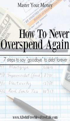 Are you caught in a vicous cycle of overspending and debt? This 7 step system will show you how to break free from that perpetual state of never having enough and instead creating a plan that will get you and keep you out of debt forever!