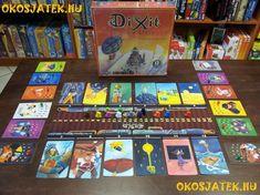 A Dixit Odyssey (Dixit Odüsszeia) az utóbbi évek legtöbb díjat begyűjtő játékának, a Dixitnek a legújabb változata. Fejtsd meg a képek rejtélyeit, kerüld el az ellenfeleid által állított csapdákat, és engedd, hadd szárnyaljon a képzeleted! A Dixit Odüsszeia új szabályvariánsokat és új, felfedezésre váró, varázslatos világokat kínál akár 12 játékos számára is!  A Dixit Odüsszeia önállóan is játszható, de a korábbi kiadásokkal (Dixit, Dixit 2) is kombinálható, valamint akár 12 játékossal is… Games, Gaming, Game