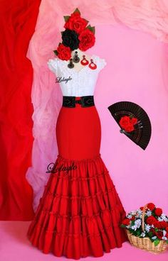 Mexican Fashion, Mexican Outfit, Dama Dresses, Quince Dresses, Traditional Mexican Dress, Traditional Dresses, Maxi Outfits, Hot Outfits, Mexican Skirts