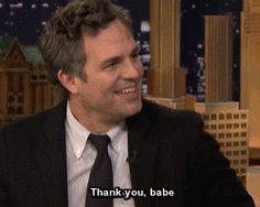 New trending GIF on Giphy. jimmy fallon thank you mark ruffalo. Follow Me CooliPhone6Case on Twitter Facebook Google Instagram LinkedIn Blogger Tumblr Youtube