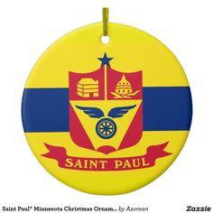 Saint Paul* Minnesota Christmas Ornament