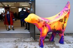 Lambanana at Liverpool Cruise Terminal Liverpool History, Liverpool Home, Visit Britain, Penny Lane, Colorful Animals, Lake District, British Isles, Chester, World Cultures