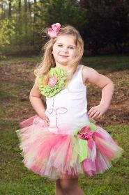 Fabrique Flower Couture Tutu Set   I am doing this for my Rosebud!! :)