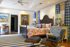 36 Small-Space Decorating Mistakes To Avoid – Luxury Home Decor, Trick And Tips - Bohemian Home Bedroom Eclectic Curtains, Eclectic Decor, Home Bedroom, Modern Bedroom, Master Bedroom, Decorating Small Spaces, Decorating Your Home, Luxury Home Decor, Luxury Homes