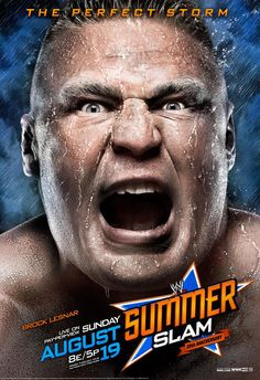 The Perfect Storm - WWE Summerslam 2012 August I'll be there! Brock Lesnar Wwe, Wwe Brock, Wwe Tag Team Championship, World Heavyweight Championship, Wrestling Superstars, Wrestling Wwe, Wwe Events, Wwe Ppv, Image Internet