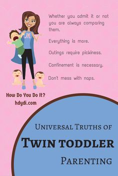 Elizabeth nails it! Parenting multiple toddlers has its own unique characteristics. Great post includes a hilarious description of a morning with 3 kids at home!