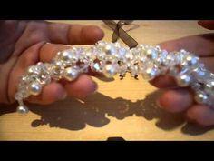 """Tutorial orecchini """"Sole d'oriente"""" realizzati con perline miyuki delica e rocaille - YouTube"""