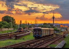 High quality photograph of Budapest Transport Limited (BKV.Zrt) # 350 at Budapest, Hungary. Commercial Vehicle, Hungary, Budapest, Transportation, Europe, Train, Vehicles, Around The Worlds, Trains