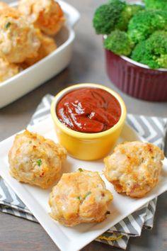 Turkey sweet potato meatballs. Get the recipe.