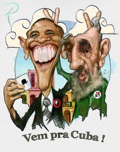 Obama e Fidel