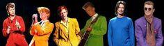 A bowie rainbow David Bowie Changes, Aladdin Sane, The Thin White Duke, Major Tom, Ziggy Stardust, Sound & Vision, Rock Legends, Glam Rock, David Jones