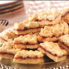 Almond Raspberry Bars