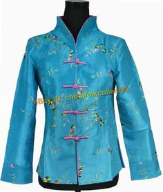 ffd045ee50 Chinese Women Embroidery FlowerJjacket Coat Clothing