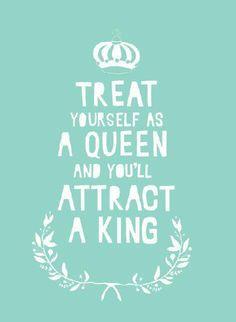 Queen needs her King
