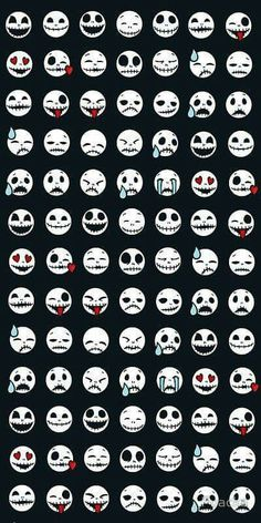 disney movie jack skellington lol sally the nightmare before christmas the Fall Halloween, Halloween Crafts, Halloween Decorations, Halloween Emoji, Kawaii Halloween, Halloween Witches, Halloween Halloween, Halloween Costumes, Jack The Pumpkin King