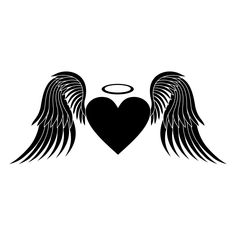Heart with Wings Tattoo Meaning - Thoughtful Tattoos Hip Tattoo Small, Small Tattoo Placement, Small Tattoos For Guys, Wings Tattoo Meaning, Heart Tattoos Meaning, Simple Tattoo With Meaning, Angel Wings Drawing, Heart With Wings Tattoo, Ancient Tattoo