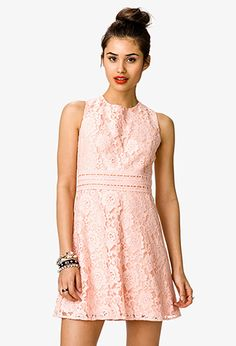Crochet & Ribbon Lace Dress | FOREVER21 - 2035374068 - http://AmericasMall.com/categories/juniors-teens.html