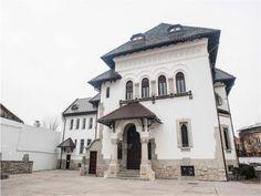 Casa Vintilă Brătianu - stil neoromanesc - arh Petre Antonescu Construction Types, My Town, Bucharest, Beautiful Buildings, Byzantine, Old And New, Romania, 18th Century, Restoration