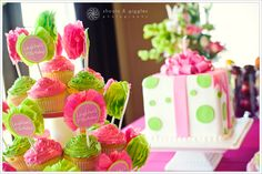 Lime Green & Hot Pink Birthday Party