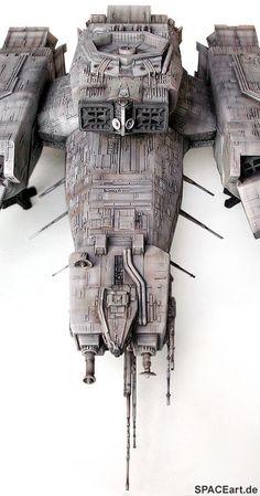 Alien 1: Nostromo - Deluxe Modell, Modell-Bausatz ... http://spaceart.de/produkte/al091.php