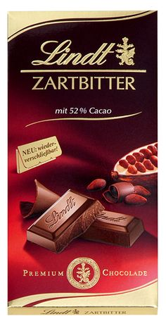 Lindt: Zartbitter, 100g Dessert Drinks, Desserts, Bad Room Ideas, Lindt, Chibi Food, Chocolate World, Food Drawing, Kakao, Candy Recipes