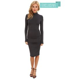 Michael Stars Exclusive L/S Turleneck Dress w/ Shirring Oxide - Zappos.com Free Shipping BOTH Ways.♥✤.... mrs amen ra♥✤