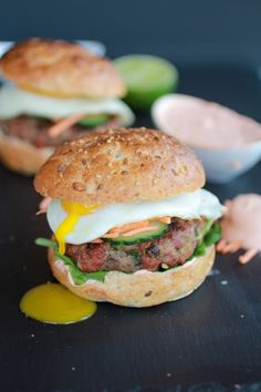 Banh Mi Asian Burgers - Half Baked Harvest
