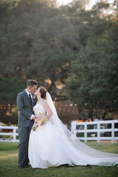 Photography: heidi-o-photo - http://www.stylemepretty.com/portfolio/heidi-o-photo Read More on SMP: http://www.stylemepretty.com/california-weddings/2015/02/16/rustic-summer-wedding-at-circle-oak-ranch/