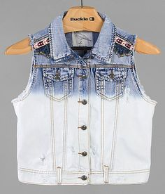 White Crow Washed Denim Vest - Women's Vests | Buckle.......bought it!