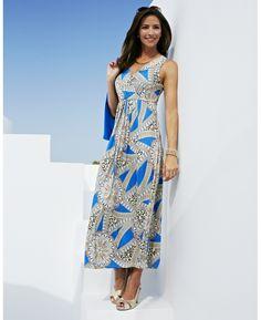 """Nightingales"" Nightingales Print Dress & Shrug at Marisota"