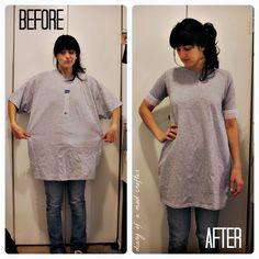 DIY T-Shirt Remodel II