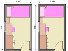 kids bedroom layout design | bedroom, narrow bedroom, children bedroom, kids bedroom free layouts ...