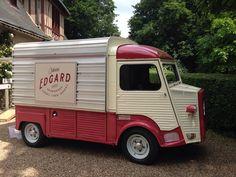 Citroen Type H, Citroen H Van, Food Truck, Recreational Vehicles, Tube, Vans, Trucks, Falling Down, Van
