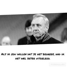 Cruijff legendarische quote