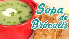 Sopa Creme de Brócolis - Cozinha pra 1 - YouTube