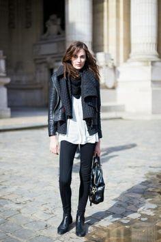 Paris Fashion Week FW 2014 Street Style: Zuzanna Bijoch