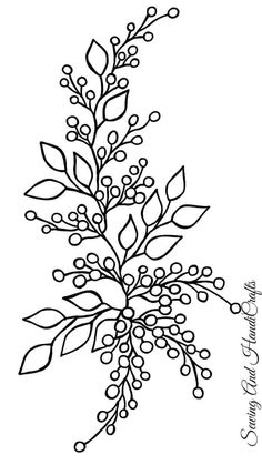 Hand Embroidery Design Patterns, Hand Embroidery Projects, Hand Embroidery Videos, Embroidery Stitches Tutorial, Embroidery Flowers Pattern, Embroidery Art, Wildflower Drawing, Bordado Floral, Drawings