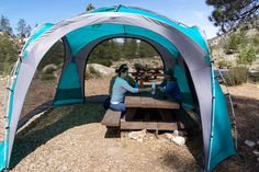 canopy tent coleman mountain view 12x12 screendome shelter