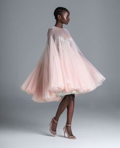 Colored pink short wedding dress for your reception | Spring 2020 Wedding Dresses by Paolo Sebastian - Perfete Dress Images, Boutique, Couture Collection, Spring Collection, The Dress, Swing Dress, Couture Fashion, Beautiful Dresses, Wedding Gowns