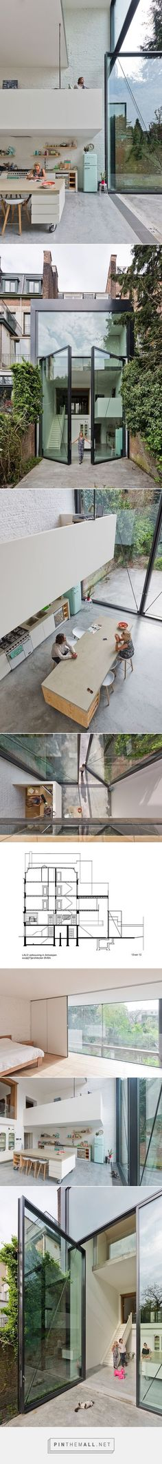 Town House in Antwerp / Sculp[IT] | ArchDaily... - a grouped images picture - Pin Them All