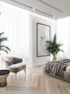 Mid-Century Bedroom Decor Tips & Tricks to Make This Bedroom Decor Last You Seasons and Seasons. Decorating a bedroom decor might be one of the biggest hardship Home Bedroom, Bedroom Decor, Modern Bedroom, Master Bedroom, Contemporary Bedroom, Bedroom Ideas, Bedroom Furniture, Bedroom Romantic, Contemporary Interior Design