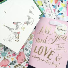 Gift bag and stationery haul from @tjmaxx.  How adorable are these @katespadeny holiday cards?  It took me a second to get it... (3 French hens). Never too early to start planning for next Christmas!  #haul #tjmaxx #stationery #maxxinista #thatsdarling #flashesofdelight #girly #pink #styleblogger #beautyblogger #fashionblogger #fblogger #bbloggers #blog #blogger #holidays #dallas #dfw #dallasblogger #instadaily #instablogger #instagood #picoftheday #photooftheday #flatlay by thepolishedposy